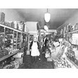 Joseph Gary's Grocery interior, 420 College St., Toronto, [ca. 1935]. Ontario Jewish Archives, Blankenstein Family Heritage Centre, item 1544.|