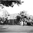 Anshei Libavitch Synagogue (exterior), Dension Ave., Toronto, [195-?]. Ontario Jewish Archives, Blankenstein Family Heritage Centre, item 1768.|