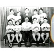 YMHA basketball team, 1947. Ontario Jewish Archives, Blankenstein Family Heritage Centre, Accession 1990-10-2|Ben Atkin was the coach of both the bantam and senior teams. The 1947 team became the Ontario champions.