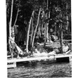 On the dock of Camp Timberlane, 1958.  Ontario Jewish Archives, Blankenstein Family Heritage Centre, accession 2015-6-6.|
