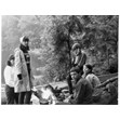 Girls on a canoe trip, Camp Timberlane, 1964. Ontario Jewish Archives, Blankenstein Family Heritage Centre, accession 2015-6-6.|