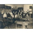 Lansdowne School manual training class, [ca. 1915]. Ontario Jewish Archives, Blankenstein Family Heritage Centre, fonds 25, series 1, item 8.|Harry Levine is pictured fourth from the right.