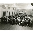 Family party, anniversary of Faivel and Rochel Zarnitsky, Londoner Shul, Toronto, [1942 or 1943]. Ontario Jewish Archives, Blankenstein Family Heritage Centre, fonds 83, file 9, item 22.|